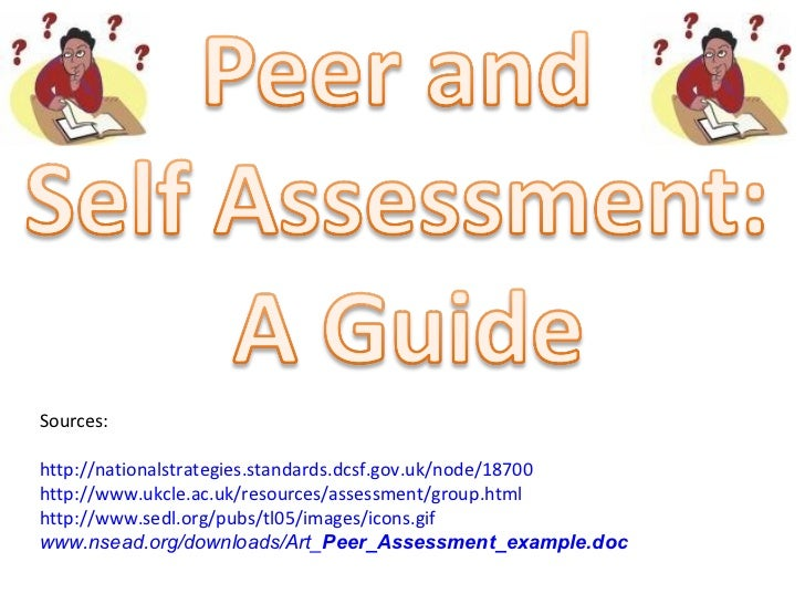 Guide to peer_and_self_assessment