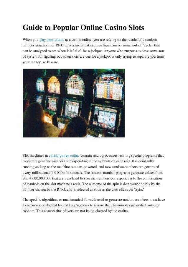 live casino online slots n games