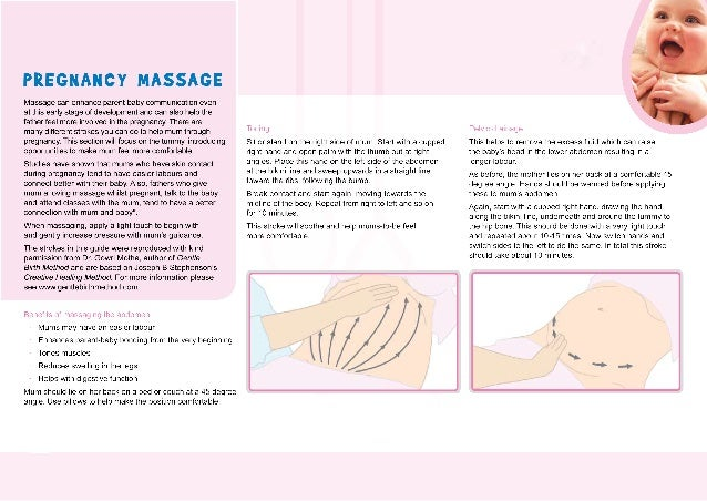 Guide to Pregnancy Massage