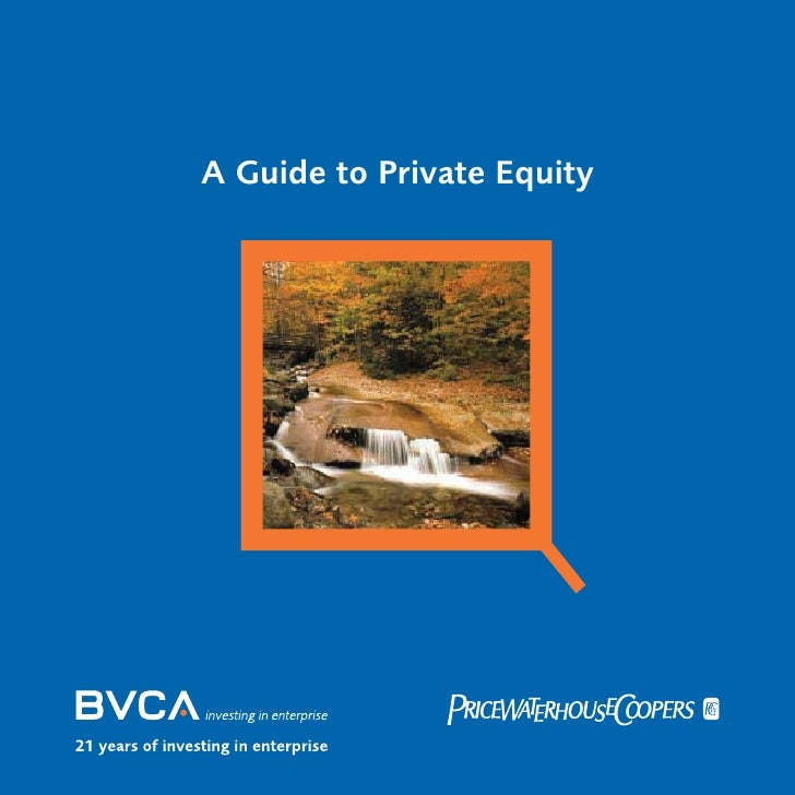 A Guide to Private Equity