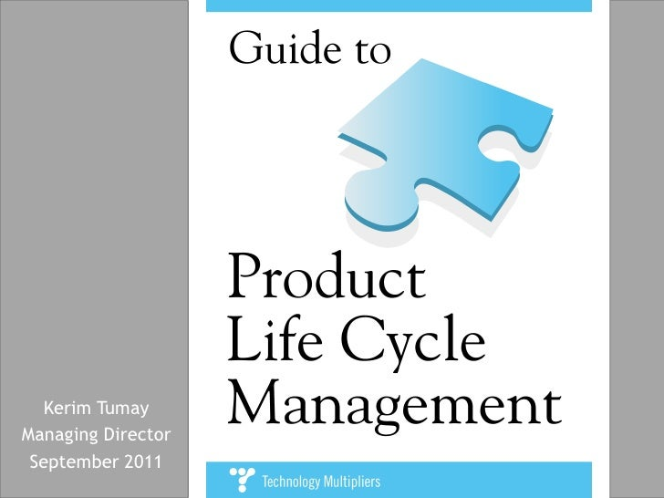 Guide to Product Lifecycle Management