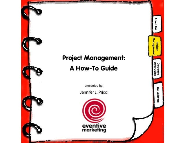 Guide to project management by j pricci