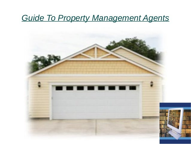 Guide To Property Management Agents
