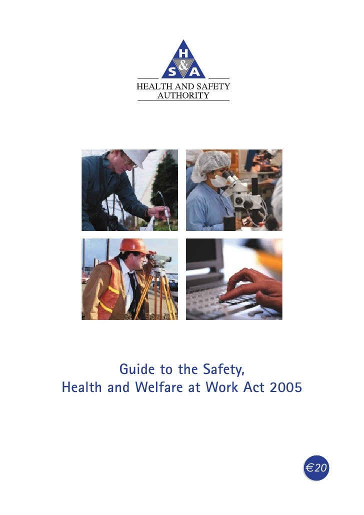 Guide to the Safety, Health and Welfare at Work Act 2005                                           €20