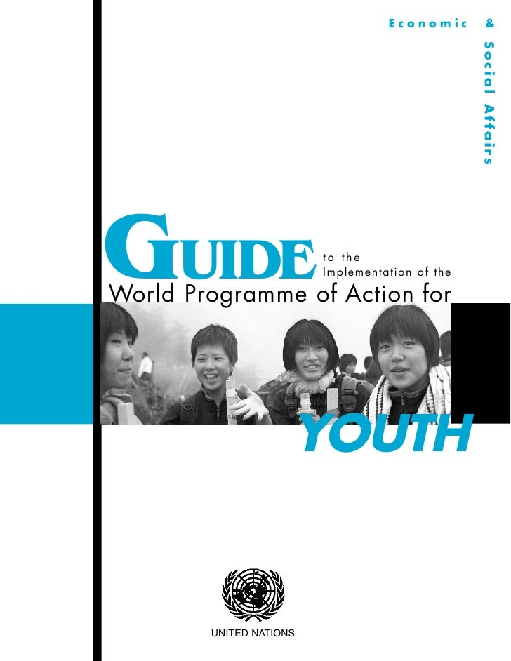 Guide to the implementation of the world programme of action for youth