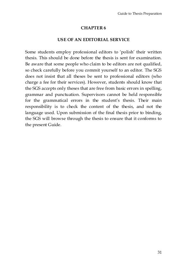 Master thesis copyright page