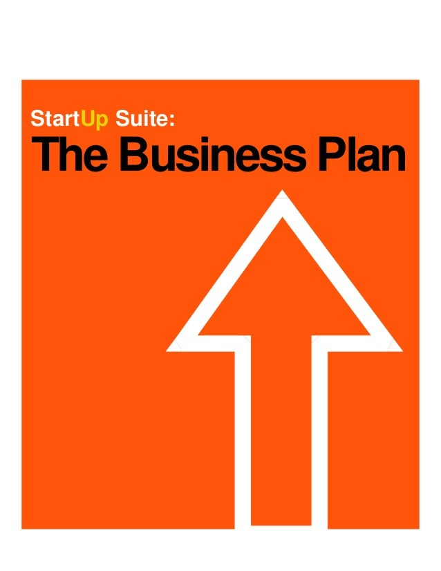StartUp Suite:The Business Plan