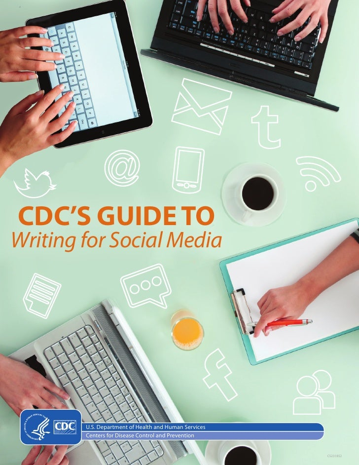 CDC's Guide to writing for social media