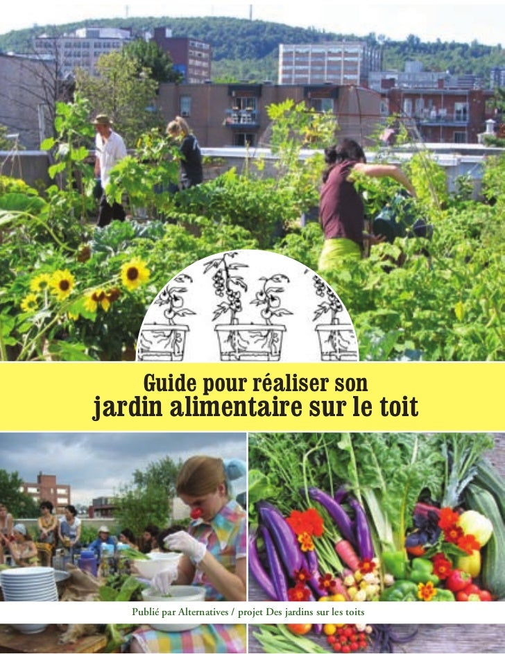 Guide pour réaliser sonjardin alimentaire sur le toit   Publié par Alternatives / projet Des jardins sur les toits