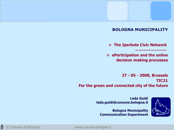 Bologna digital city
