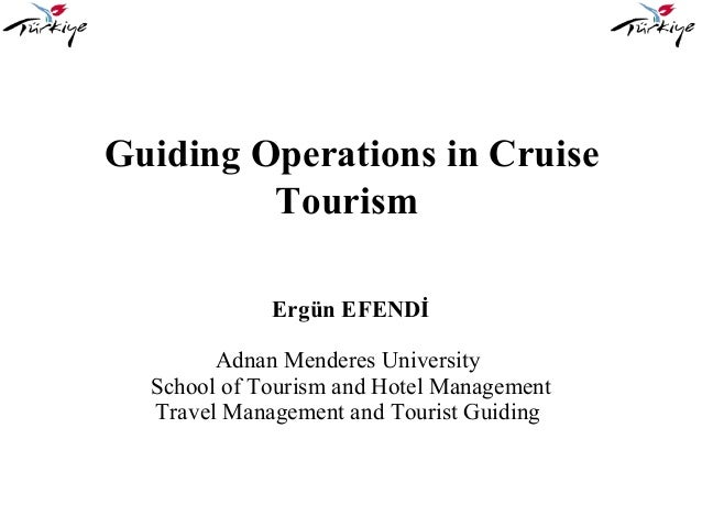 Guiding Operations in Cruise Tourism