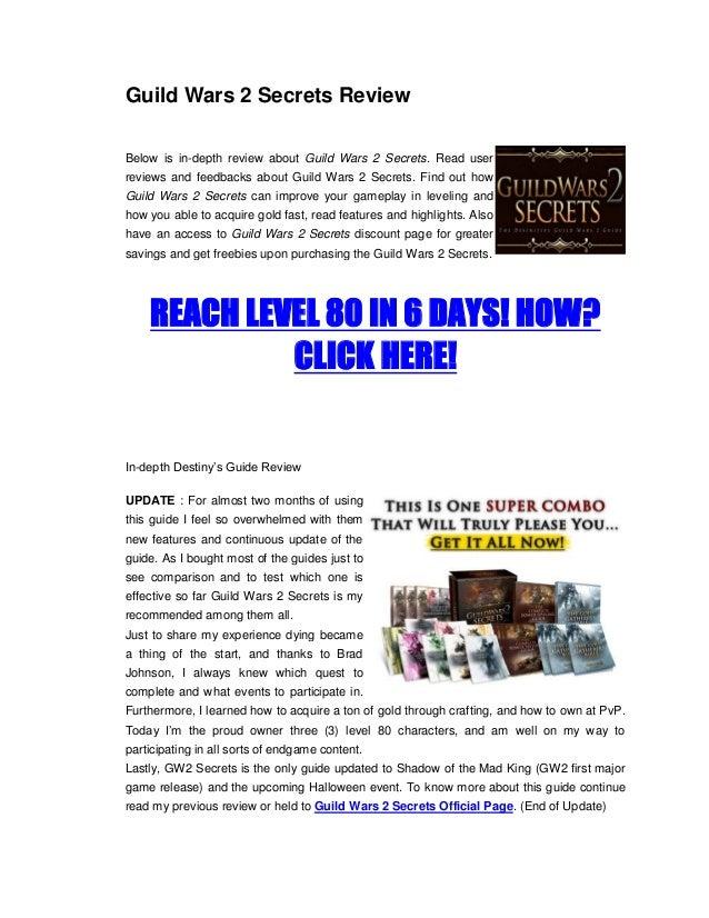 Guild Wars 2 Secrets Review
