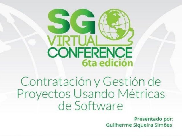 Contratación y gestión de proyectos usando Métricas de software