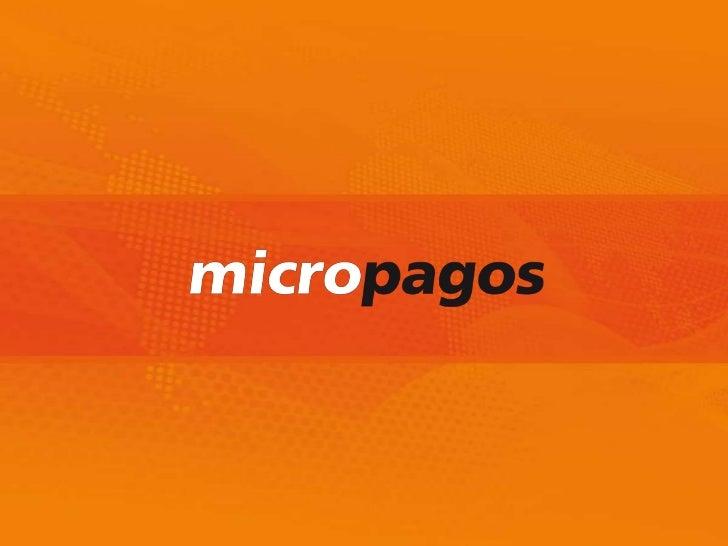 La EmpresaMICROPAGOS es una empresa líder en laindustria de pagos móviles que surge de un spinoff de HANDSOFT, empresa con...