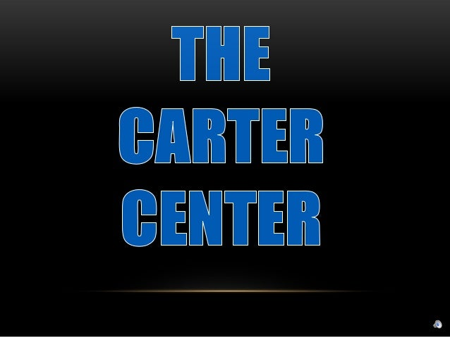 Logo de Carters The Carter Center Logo Image