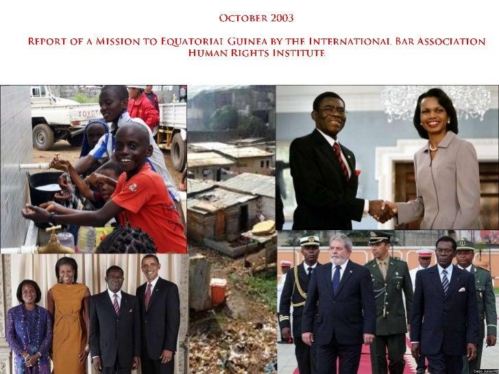 Guine equatorial at the crossroads