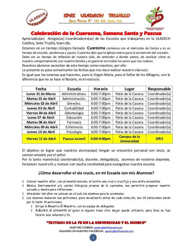 """""""TESTIGOS DE LA FE EN LA UNIVERSIDAD Y EL MUNDO"""" NUESTRO CORREO: spestrujillo@hotmail.com SIGUENOS EN NUESTRO FACEBOOK: sp..."""