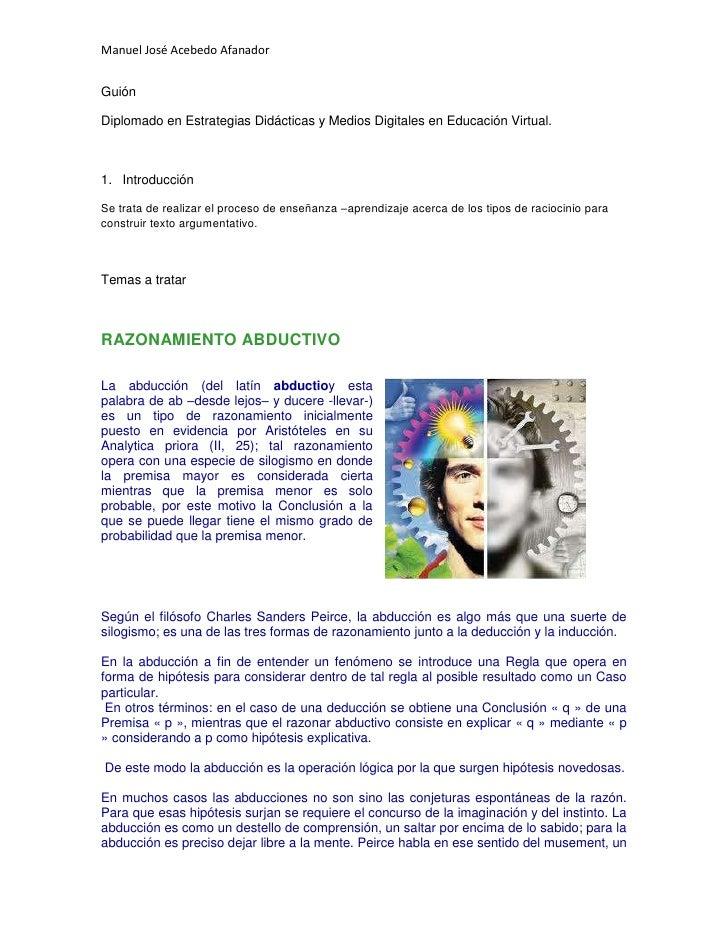 Guión<br />Diplomado en Estrategias Didácticas y Medios Digitales en Educación Virtual.<br />Introducción<br />Se trata de...