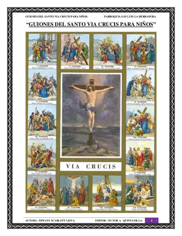 Guiones del santo via crucis para niños