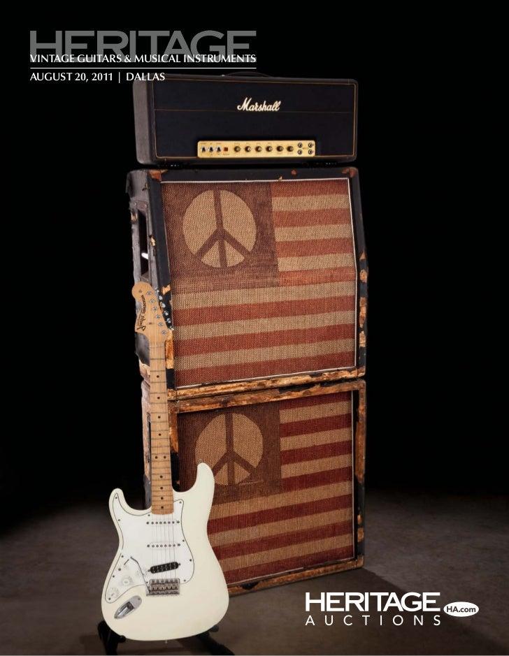 vintage guitars & musical instrumentsaugust 20, 2011   dallas