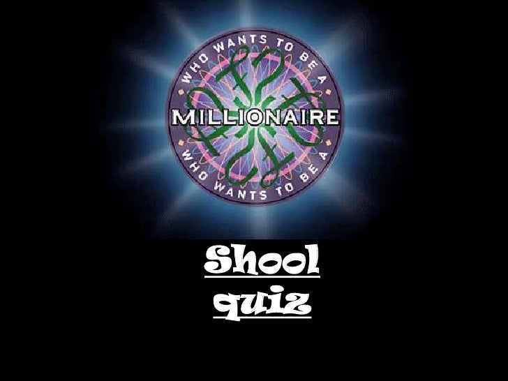 Who wants to be a millionaire quiz: Kielce's Edition