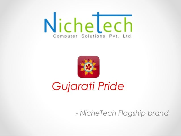 Gujarati Pride - NicheTech Flagship brand