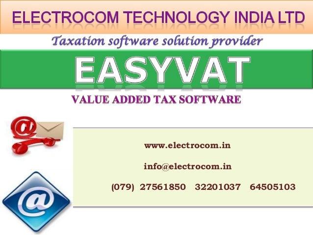 www.electrocom.in      info@electrocom.in(079) 27561850   32201037   64505103