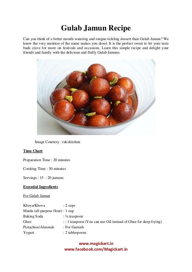 Gulab Jamun Recipe In English Gulab jamun recipeGulab Jamun Recipe In English