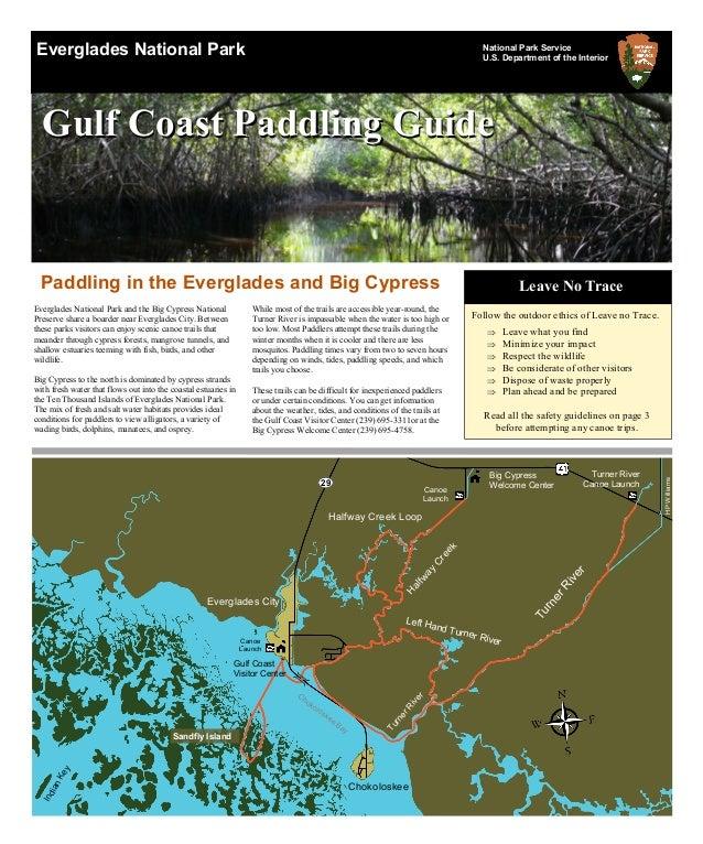 Everglades National Park National Park Service U.S. Department of the Interior Gulf Coast Paddling GuideGulf Coast Paddlin...