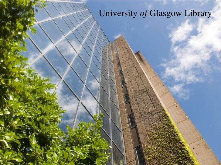 University of Glasgow Library<br />
