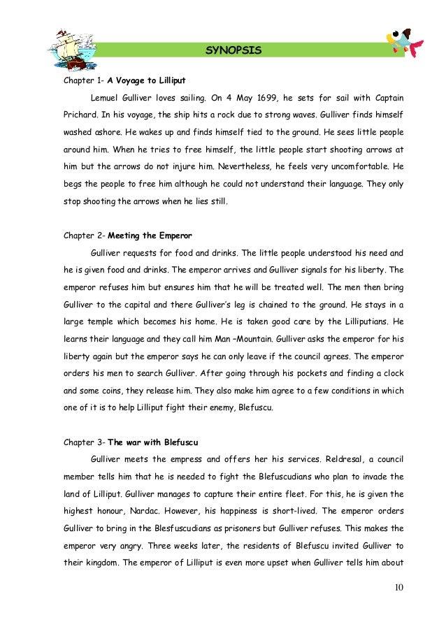 how to write a novel summary4