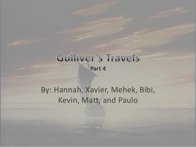 Gulliver's travels part 4 team