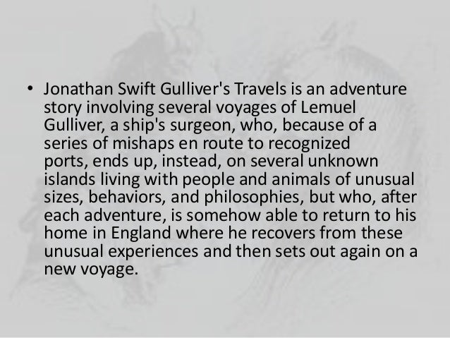 gullivers travels essay prompts Free essay: effective use of satire in gulliver's travels jonathan swift's story, gulliver's travels, is a very clever story it recounts the fictitious.