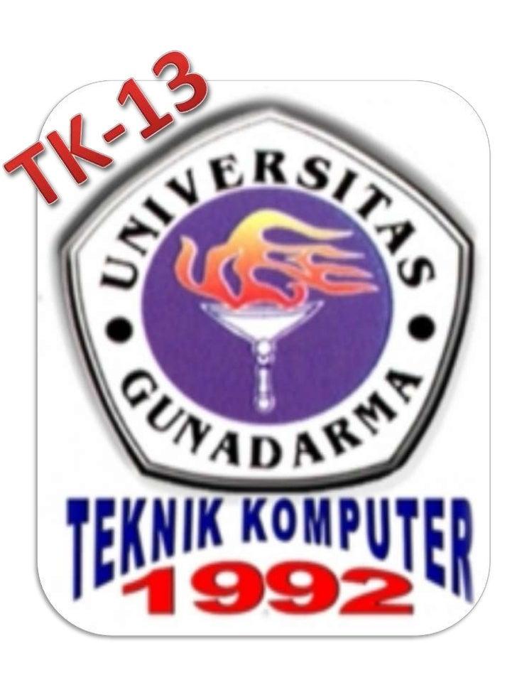 STMIK aka Gunadarma University' 92