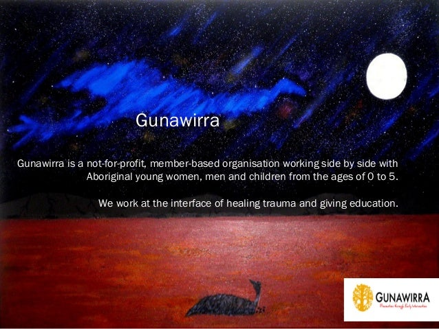 Gunawirra is a not-for-profit, member-based organisation working side by side withAboriginal young women, men and children...