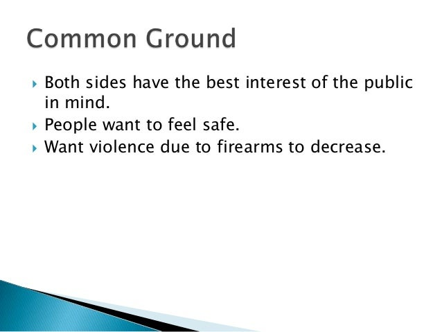 anti gun control persuasive essay Issues term papers (paper 5391) on anti gun control: should the mere fact that criminals committing crimes with the use of guns infringe the national right of.