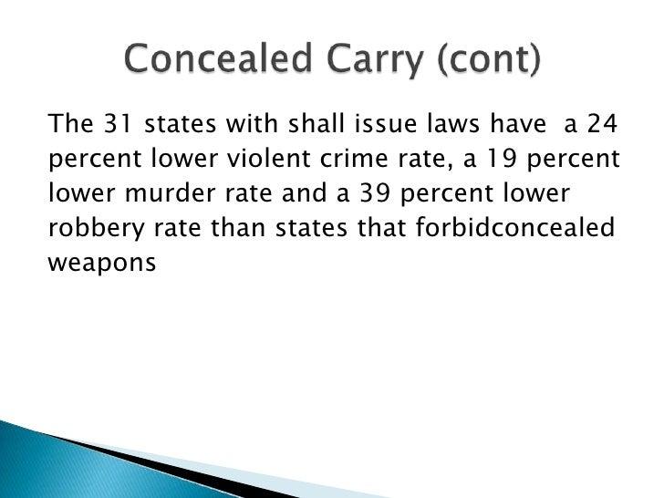 Persuasive speech gun control