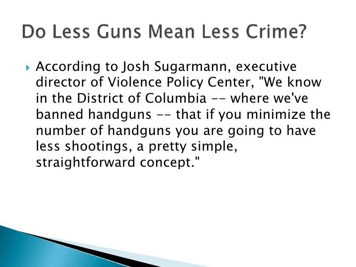 Gun Control Laws Essay