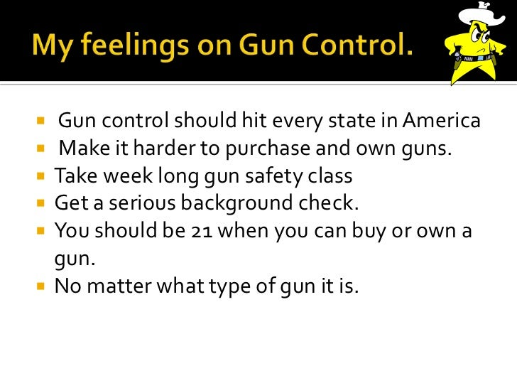 pro or con private gun ownership essay Strong essays: private gun ownership should not be banned the pros and cons of gun control - this essay will discuss the pros and cons of gun.