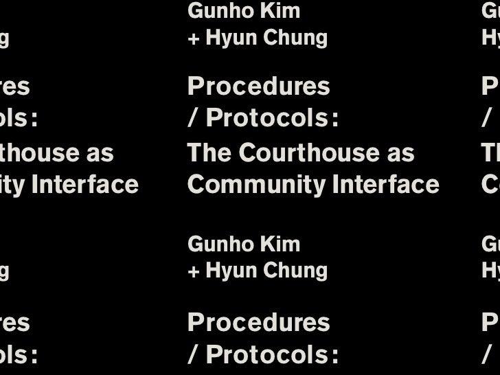 Midterm Presentation by Gunho Kim and Hyun Chung