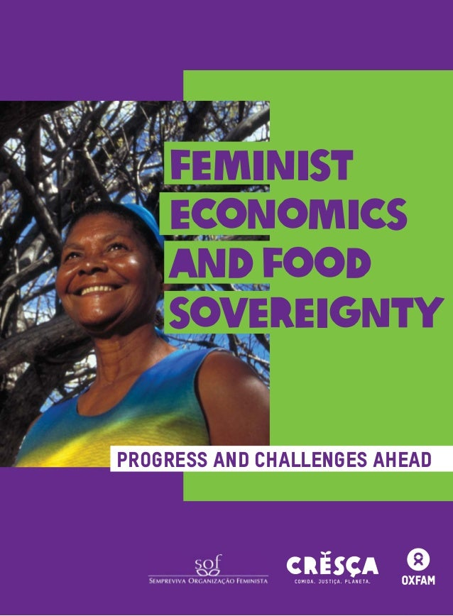 1 Progress and Challenges Ahead FEMINIST ECONOMICS ANDFOOD SOVEREIGNTY