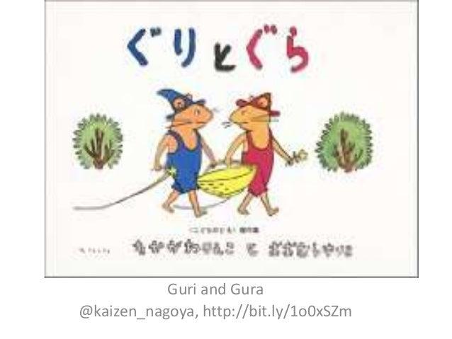 Guri and Gura @kaizen_nagoya, http://bit.ly/1o0xSZm