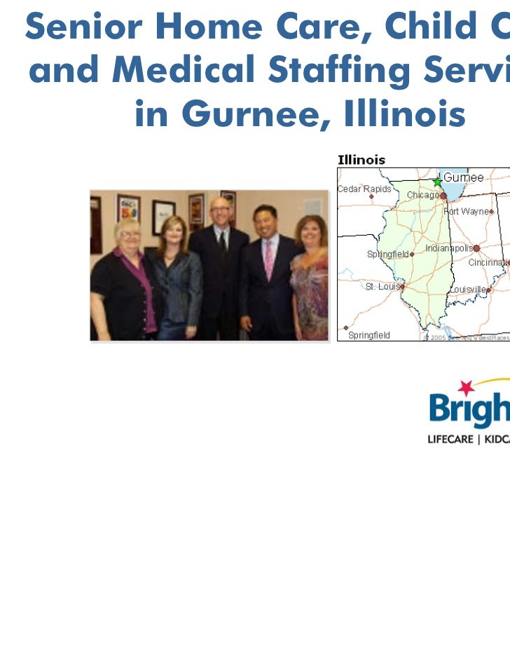 Senior Home Care, Child Care and Medical Staffing Services in Gurnee, Illinois