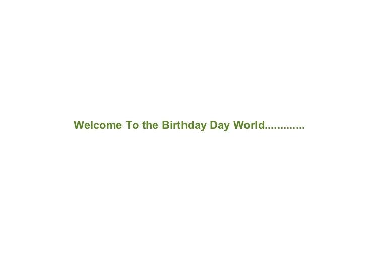 Gurus Birthday ppt