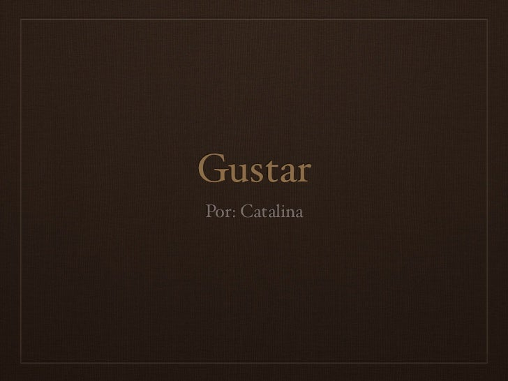 GustarPor: Catalina
