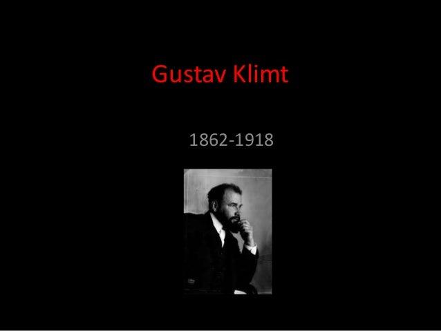 Gustav klimt presentation