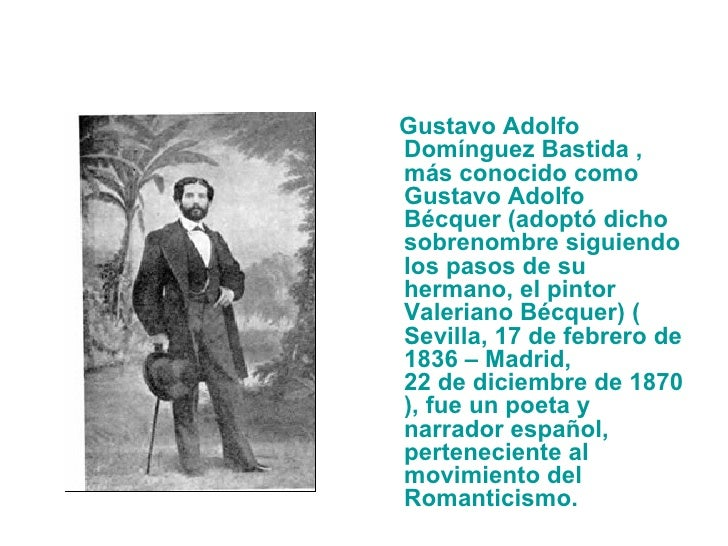 Gustavo adolfo b cquer for Adolfo dominguez acciones