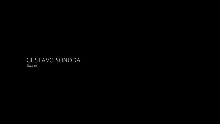 Portfolio Gustavo Sonoda