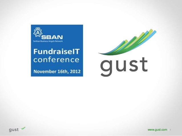 Benjamin Wattinne - Gust.com - The Global Platform for Startup Funding