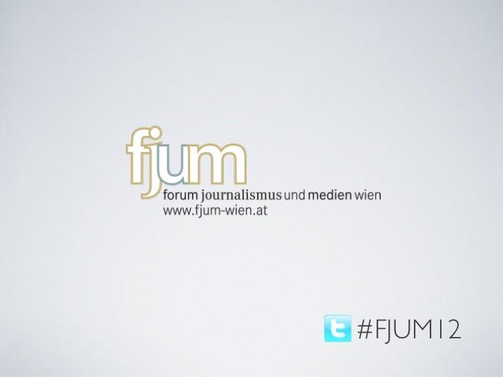 #FJUM12